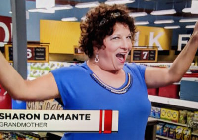 Sharon on Guy Fieri's Grocery Games