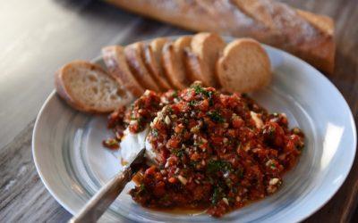 Easy Merlot Blend Romesco Sauce